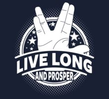 Live Long And Prosper Kids Clothes