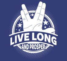 Live Long And Prosper by Tee-Nation