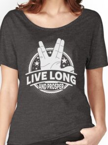 Live Long And Prosper Women's Relaxed Fit T-Shirt