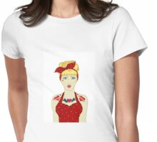 RETRO DIVA Womens Fitted T-Shirt