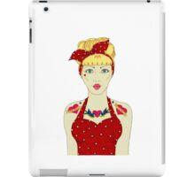 RETRO DIVA iPad Case/Skin