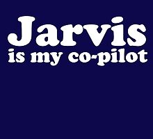 JARVIS IS MY CO-PILOT by themarvdesigns