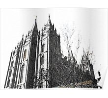 Salt Lake Temple ~ Salt Lake City, Utah Poster