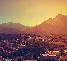 Salzburg, Austria by Paula Bielnicka