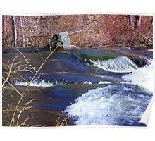 Estes Lake Dam Stream2 Poster