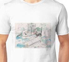 SHUU CAT 2(ORIGINAL SKETCH)(C2012) Unisex T-Shirt