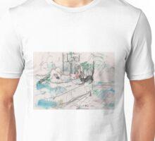 SHUU CAT 2(ORIGINAL SKETCH)(C2012) Unisex T-Shirt