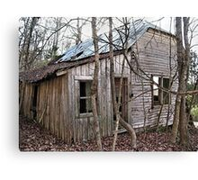 """Jackie's House""... prints and products Canvas Print"