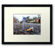 Up in Smoke Framed Print