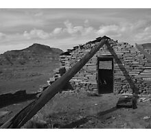 Cabin in Paria Canyon Photographic Print