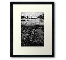 UNA river Framed Print