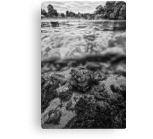 UNA river2 Canvas Print