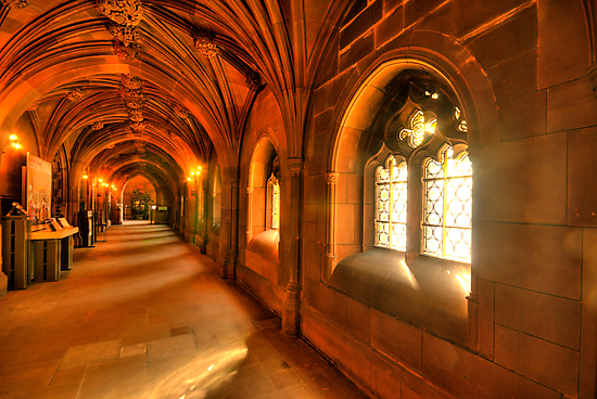 Windows bring light to the corridor by Stephen Knowles