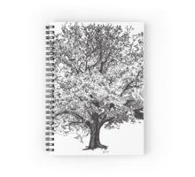 Wide gumtree Spiral Notebook