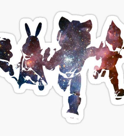 Cosmic Star Fox Crew Sticker