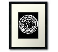 United Vector Workers of America (Mac) Framed Print