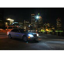 Night Out In Boston Photographic Print