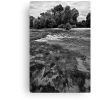 UNA river3 Canvas Print