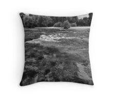 UNA river3 Throw Pillow