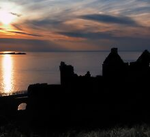 Sunset over Dunluce Castle | Irish Landscape | Pictures Of Ireland by Alan Campbell