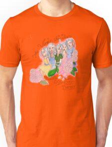 Virgin Suicides names design Unisex T-Shirt