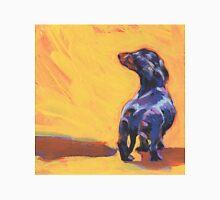 Dachshund Dog Bright colorful pop dog art Unisex T-Shirt