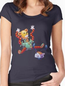Toy Box Toys Women's Fitted Scoop T-Shirt