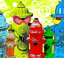 Hydrants poster by valizi