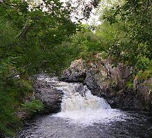 Falls of Shin by lezvee
