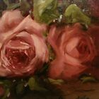Fallen Roses  detail by Cathy Amendola