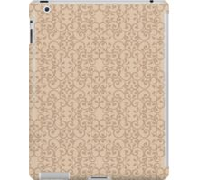 Posh Beige Pattern iPad Case/Skin