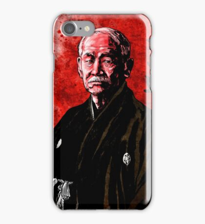 Jigoro Kano (Kanō Jigorō) iPhone Case/Skin