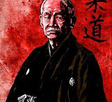 Jigoro Kano (Kanō Jigorō) by Baird Hoffmire