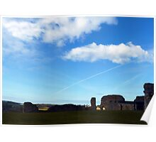 Denbigh Castle, panorama Poster