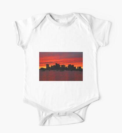 Boston City Sunset One Piece - Short Sleeve