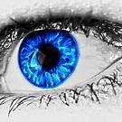 Blue Eye by creepyjoe