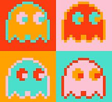 Pac-Man Ghost  by mystereoheart