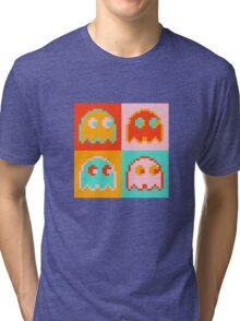 Pac-Man Ghost  Tri-blend T-Shirt