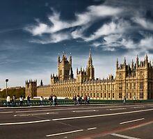 Houses Of Parliament by Frank Waechter