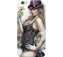 Tribute to Manet, pin up iPhone Case/Skin