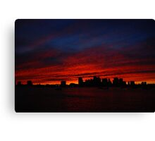 Boston Twilight Canvas Print