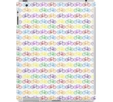 Colorful Bicycles iPad Case/Skin