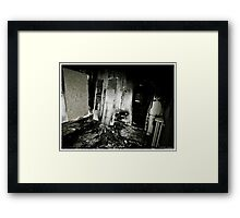 Death to abandoned #2 Framed Print