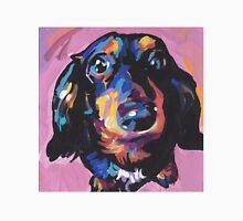 Dachshund Dog Bright colorful pop dog art Unisex T-Shirt