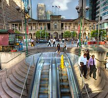 Post Office Square • Brisbane • Queensland by William Bullimore
