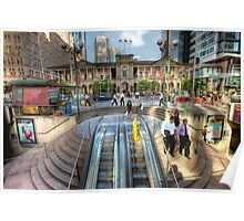 Post Office Square • Brisbane • Queensland Poster