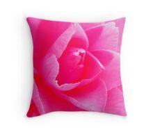 PINK FLOWER BLOOM Throw Pillow