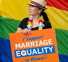Marriage Equality rally in Honolulu .5 by Alex Preiss