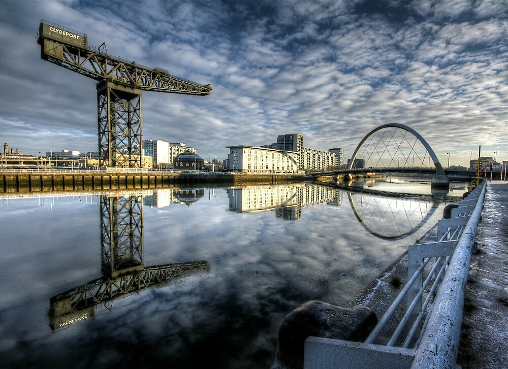 River Clyde reflected by Daniel Davison