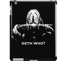 Geth Who iPad Case/Skin